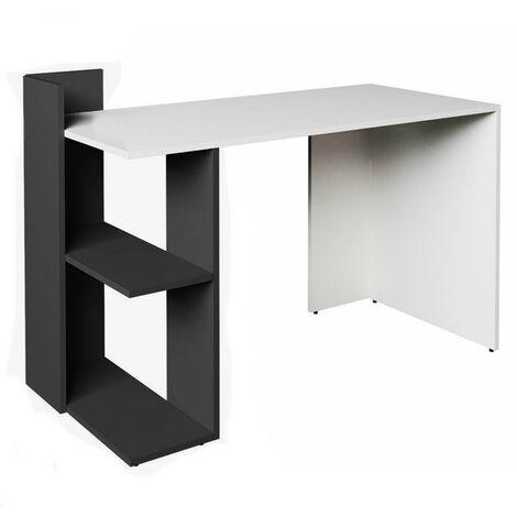 Corner Desk with 2 Shelves Computer Workstation Home
