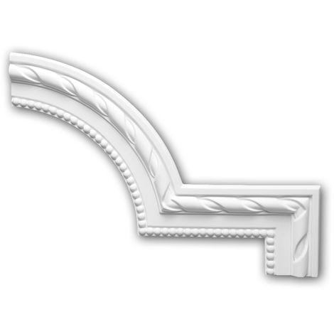 Corner element 152296 Profhome Decorative Element Neo-Classicism style white