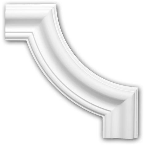 Corner element 152302 Profhome Decorative Element Neo-Classicism style white