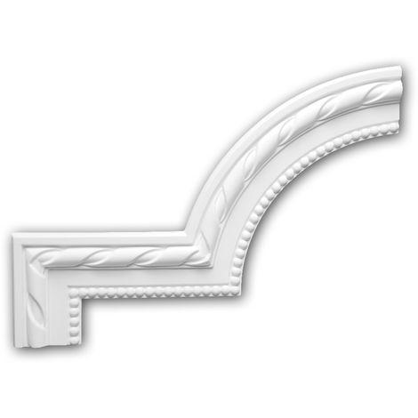 Corner element 152314 Profhome Decorative Element Neo-Classicism style white
