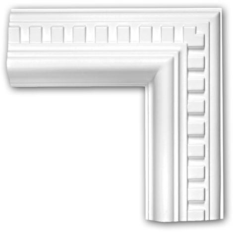 Corner element 152318 Profhome Decorative Element Neo-Classicism style white