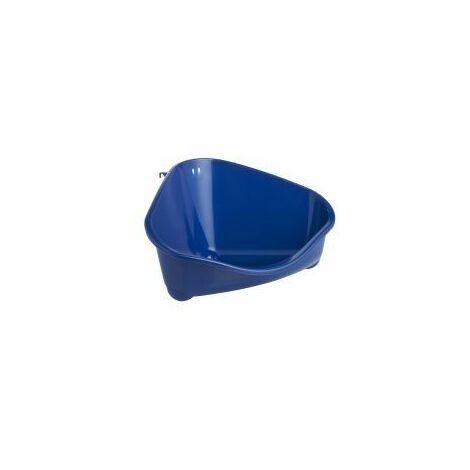 "main image of ""Corner Litter Pan Large Blue Berry - 49cm - 353425"""