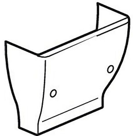 Cornet d'épanouissement pour GTL universelle Viadis 250x65mm pour tableau 13 modules blanc Artic (16702)