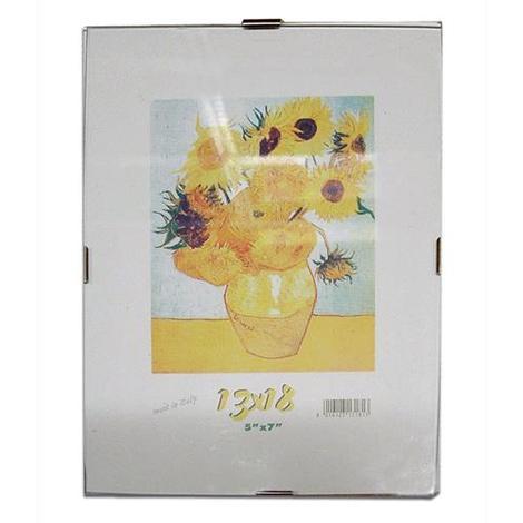 CORNICE a GIORNO per Poster 21x29,7 cm FORMATO A4 Lastra in Crilex