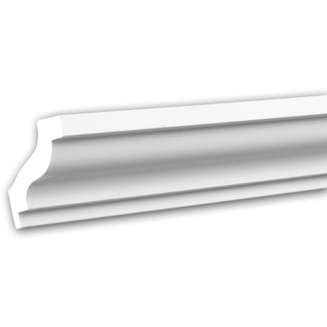 Cornice Moulding 150103 Profhome Decorative Moulding Crown Moulding Coving Cornice Neo-Classicism style white 2 m