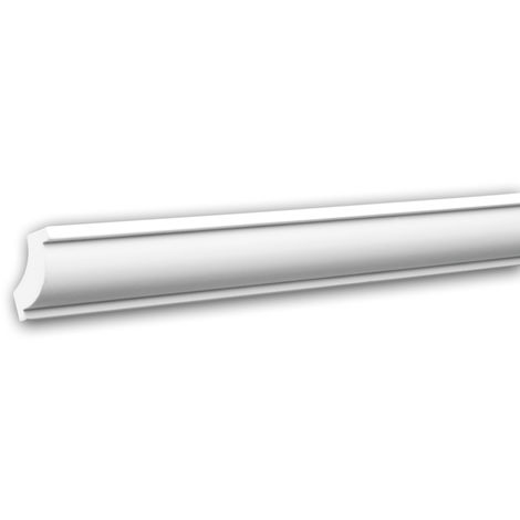 Cornice Moulding 150123 Profhome Decorative Moulding Crown Moulding Coving Cornice timeless classic design white 2 m