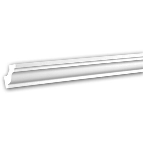 Cornice Moulding 150130F Profhome Flexible Moulding Coving Cornice Crown Moulding Neo-Classicism style white 2 m