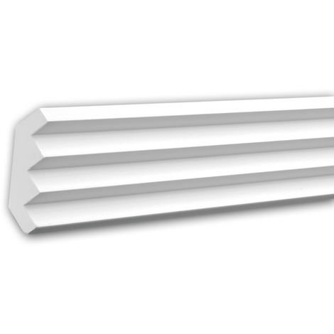 Cornice Moulding 150140 Profhome Decorative Moulding Crown Moulding Coving Cornice contemporary design white 2 m