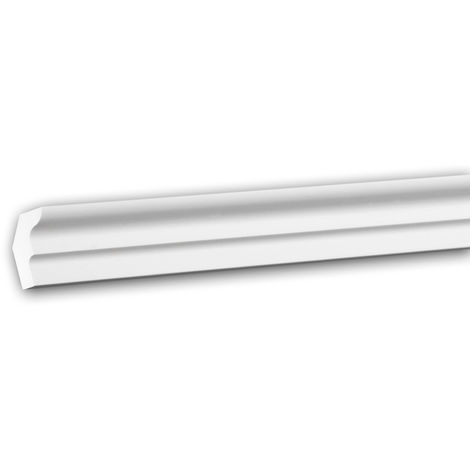 Cornice Moulding 150155 Profhome Decorative Moulding Crown Moulding Coving Cornice Neo-Classicism style white 2 m