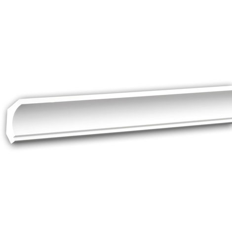 Cornice Moulding 150157 Profhome Decorative Moulding Crown Moulding Coving Cornice Neo-Classicism style white 2 m