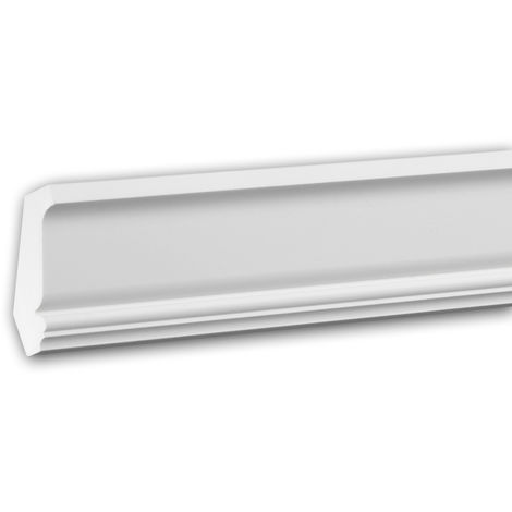 Cornice Moulding 150159 Profhome Decorative Moulding Crown Moulding Coving Cornice Neo-Classicism style white 2 m