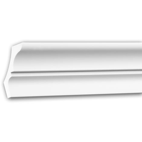 Cornice Moulding 150173 Profhome Decorative Moulding Crown Moulding Coving Cornice Neo-Classicism style white 2 m