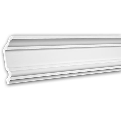 Cornice Moulding 150177 Profhome Decorative Moulding Crown Moulding Coving Cornice Neo-Classicism style white 2 m