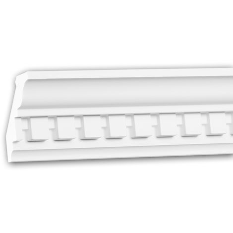 Cornice Moulding 150196 Profhome Decorative Moulding Crown Moulding Coving Cornice Neo-Classicism style white 2 m