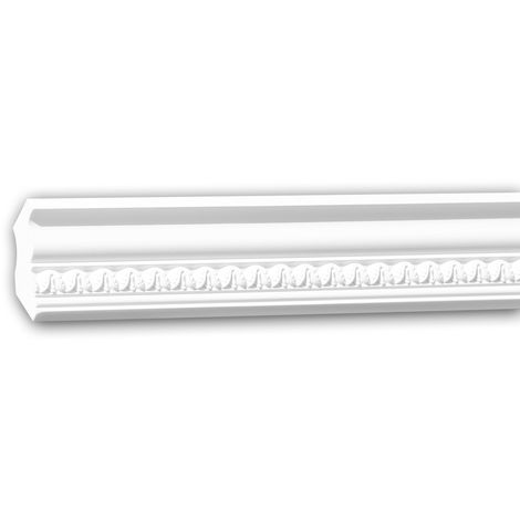 Cornice Moulding 150206 Profhome Decorative Moulding Crown Moulding Coving Cornice Neo-Classicism style white 2 m
