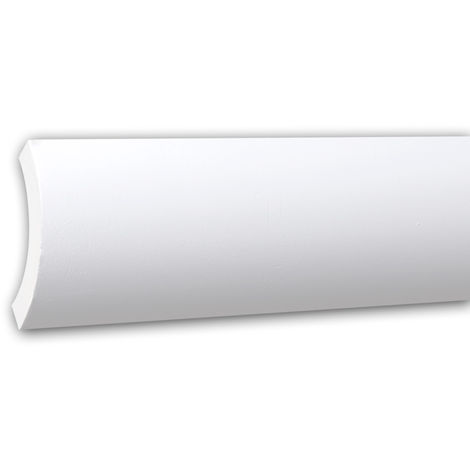 Cornice Moulding 150225 Profhome Uplighter Crown Moulding for Indirect Lighting Coving Cornice timeless classic design white 2 m