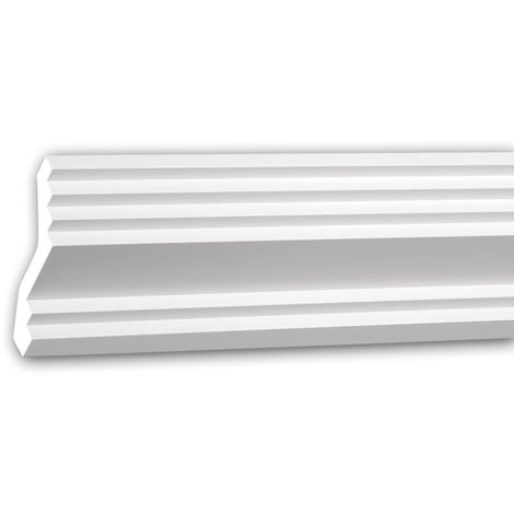 Cornice Moulding 150276 Profhome Decorative Moulding Crown Moulding Coving Cornice contemporary design white 2 m