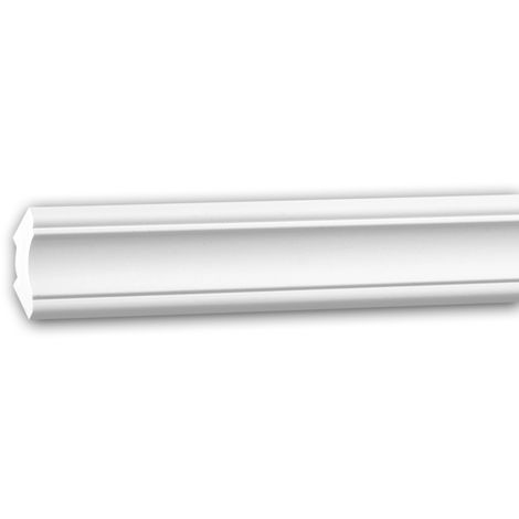 Cornice Moulding 150292 Profhome Decorative Moulding Crown Moulding Coving Cornice Neo-Classicism style white 2 m