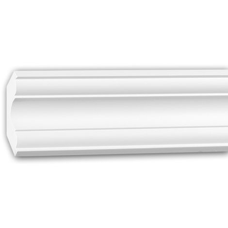 Cornice Moulding 150294 Profhome Decorative Moulding Crown Moulding Coving Cornice Neo-Classicism style white 2 m