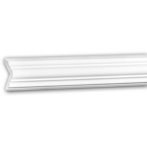 Cornice Moulding 150295 Profhome Decorative Moulding Crown Moulding Coving Cornice Neo-Classicism style white 2 m