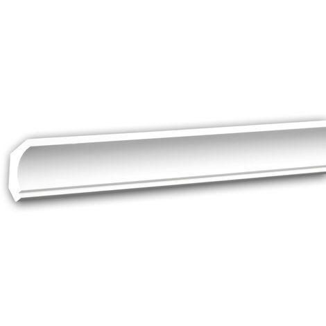 Cornice Moulding 650157 Profhome Decorative Moulding Crown Moulding Coving Cornice Neo-Classicism style white 2 m