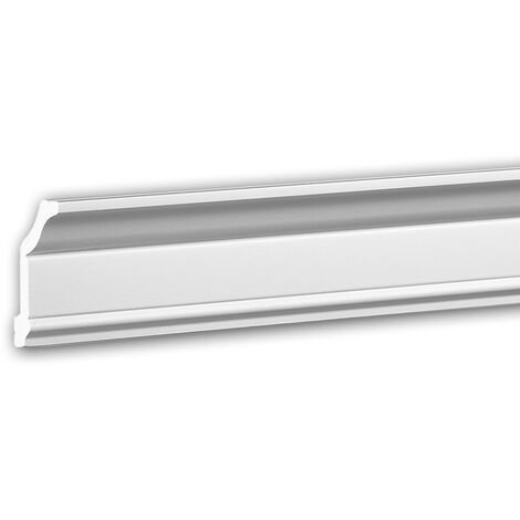 Cornice Moulding 650174 Profhome Decorative Moulding Crown Moulding Coving Cornice Neo-Classicism style white 2 m