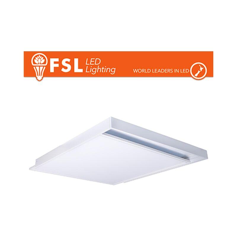 cornice per pannello led egde-lit 60x60 cm bianco lif flsurpp60x60