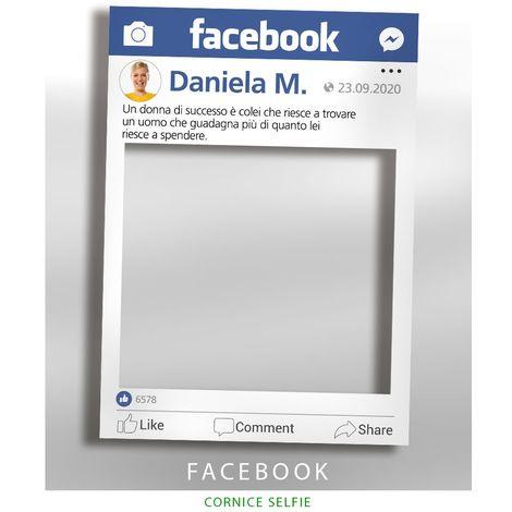 Cornice selfie Facebook