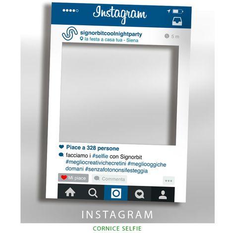 Cornice selfie Instagram