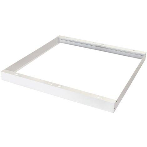 Cornice Supporto per Pannello Led Quadrato Bianco
