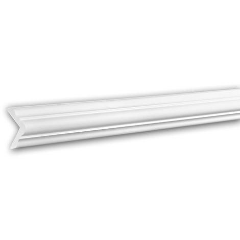 Corniche 150257 Profhome Moulure décorative style Néo-Classicisme blanc 2 m