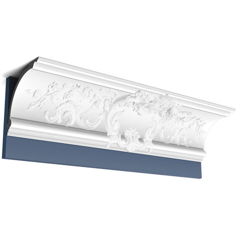 Corniche Moulure Cimaise Décoration de stuc Orac Decor C338A LUXXUS Profil décoratif du mur 2 m
