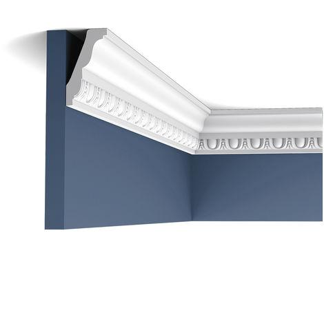 Corniche Moulure Cimaise Orac Decor C212F LUXXUS flexible Décoration de stuc Profil décoratif du mur 2 m