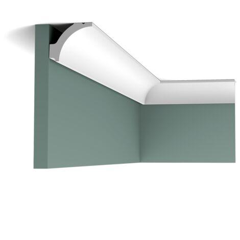 Corniche Moulure Cimaise Orac Decor C260F LUXXUS flexible Décoration de stuc Profil décoratif du plafond 2 m