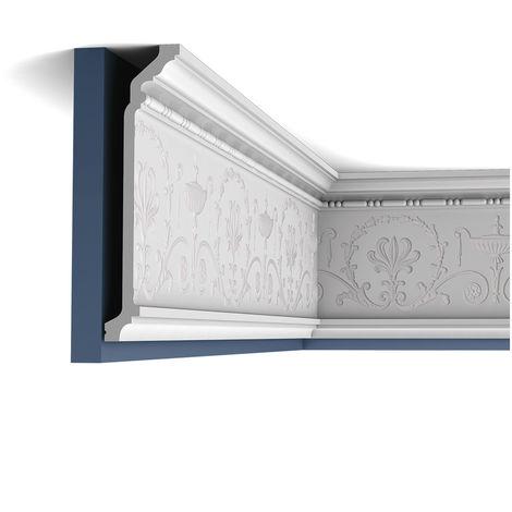 Corniche Moulure Cimaise Orac Decor C308F LUXXUS flexible Décoration de stuc Profil décoratif du mur 2 m
