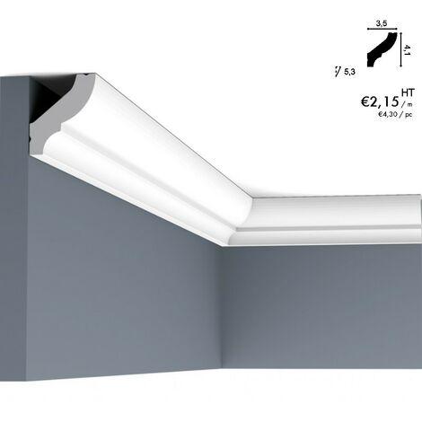 Corniche ORAC CB501 profil de base qui s'adapte à chaque intérieur 2 m