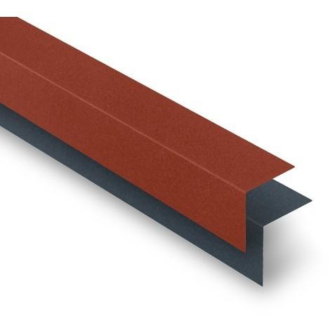 Cornière universelle acier mat 2100 mm
