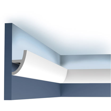 Cornisa Moldura Perfil de estuco para Iluminación indirecta 2 m Orac Decor C373 ANTONIO S Ulf Moritz