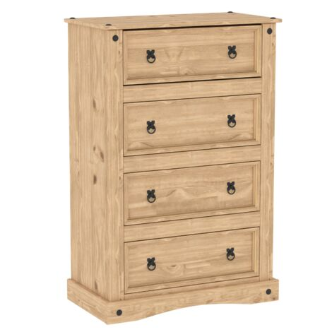 Corona 4 Drawer Chest