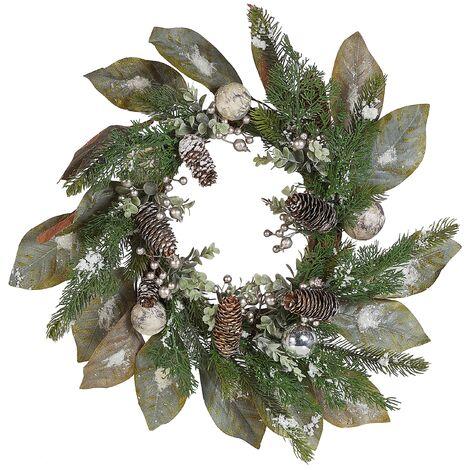 Corona decorativa verde ⌀60 cm TIEVA