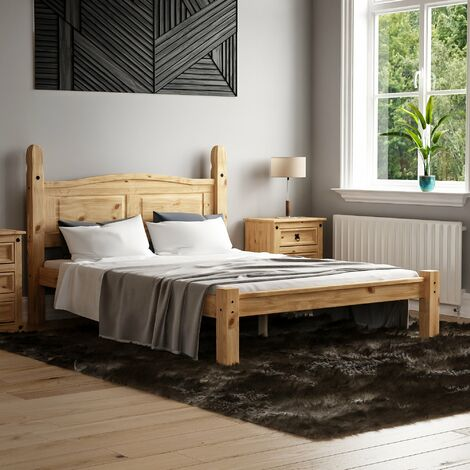 Corona Double Bed, Low Foot End