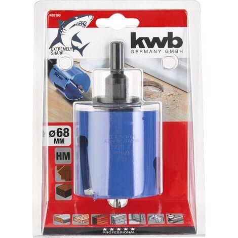 Corona multifunción carburo tungsteno HM Ø68 SB KWB