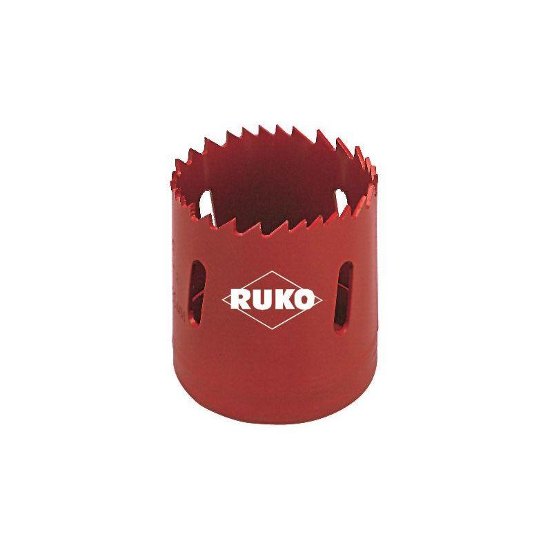 dentado variable 105 mm Ruko 106105 Corona perforadora HSS bimetal