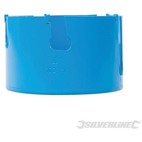 Corona perforadora multimaterial de TCT (102 mm)