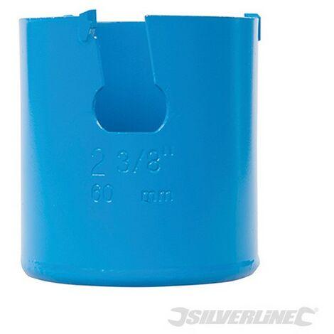 Corona perforadora multimaterial de TCT (60 mm)