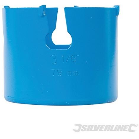 Corona perforadora multimaterial de TCT (79 mm)
