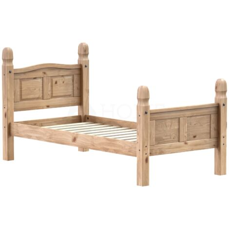 Corona Single Bed, High Foot End