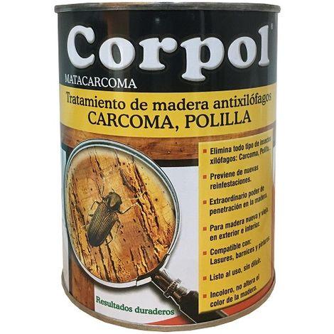 Corpol Insecticida Contra Carcoma, Termita, Polilla - 750 ml
