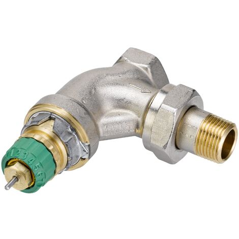 "Corps de robinet radiateur équerre 1/2"" RA-DV 15 Dynamic Valve - Danfoss 013G7713"