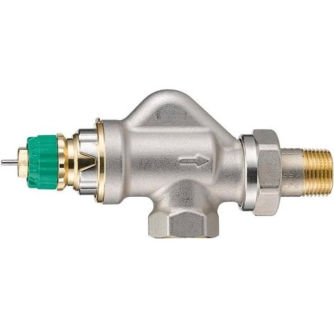 """Corps de robinet radiateur équerre inversée 1/2"""" RA-DV 15 Dynamic Valve - Danfoss 013G7710"""